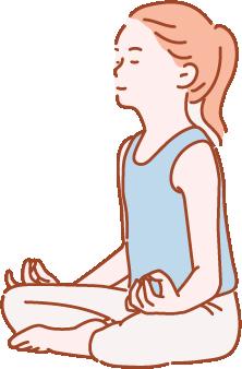 3.瞑想する