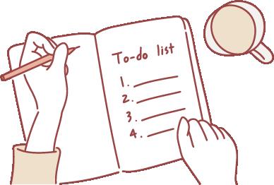 2. To Doリストを作り優先順位をつける