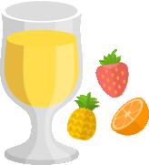 集中力アップドリンク5:フルーツジュース