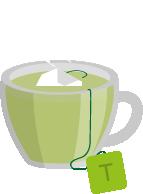 集中力アップドリンク4:緑茶
